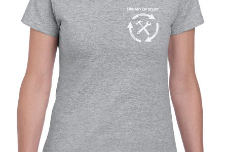 LoS Ladies tshirt Sports Grey jpg